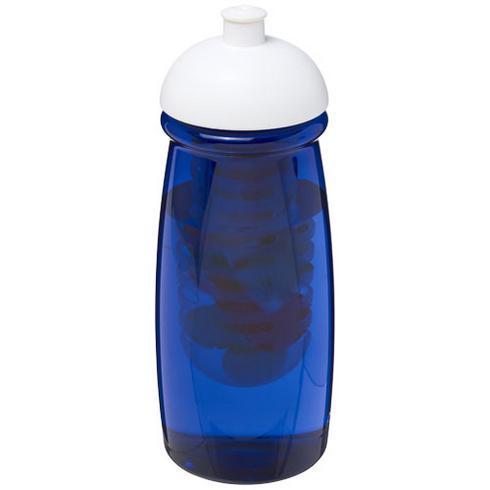 Bouteille de sport et infuseur H2O Pulse® 600ml couvercle dôme