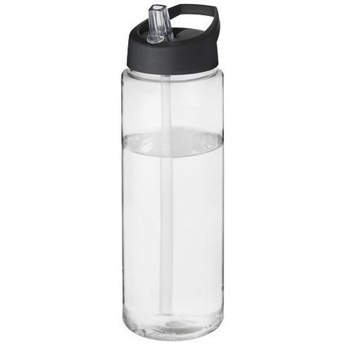 H2O Vibe 850 ml sportsflaske og låg med hældetud