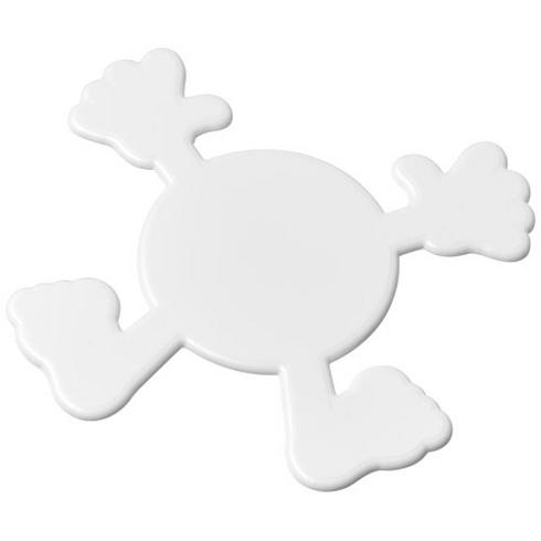 Splatman plastic coaster