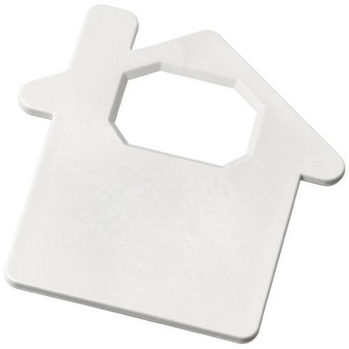 Condo house-shaped bottle opener