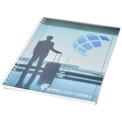 Desk-Mate® wire-o A5 anteckningsblock PP yttre