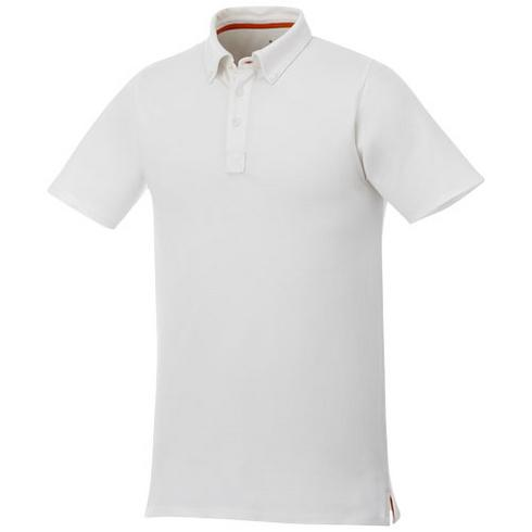 Atkinson kortærmet button-down-polo, herre