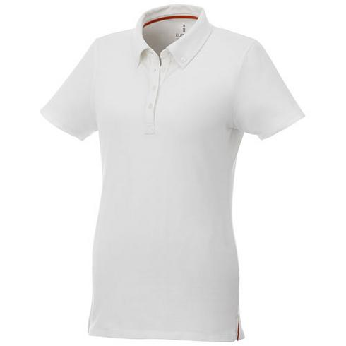 Atkinson kortærmet button-down-polo, dame