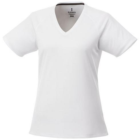 T-shirt cool fit manches courtes col V femme Amery