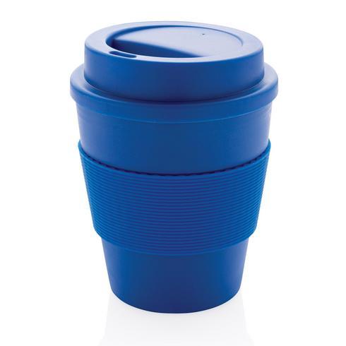 Uudelleenkäytettävä kahvikuppi kierrekorkilla 350 ml