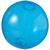 Transparent blå