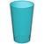 Transparant aqua blauw