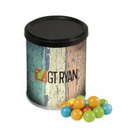 Can chewing gum balls