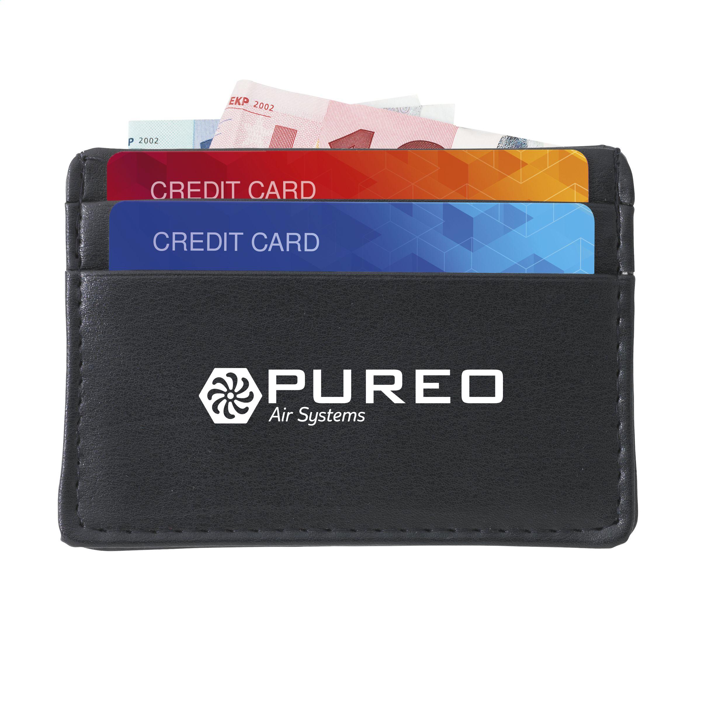 impresión de CreditPouch cardholder