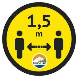 Floor sticker up to 400 cm²