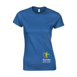 Gildan Softstyle T-shirt dame t-skjorte