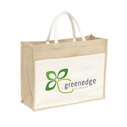 Jute Shopper sac shopping