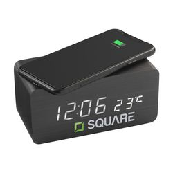 Avant Wireless Charging Digi Clock alarmklok oplader