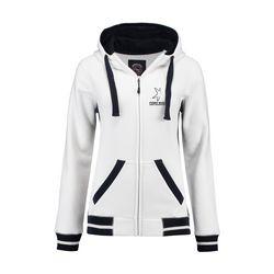 L&S Heavy Sweater Hooded Jacket Contrast Damen Jacke