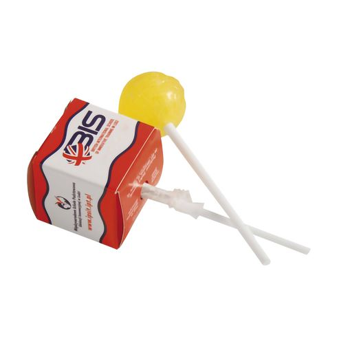Lollipop in square box