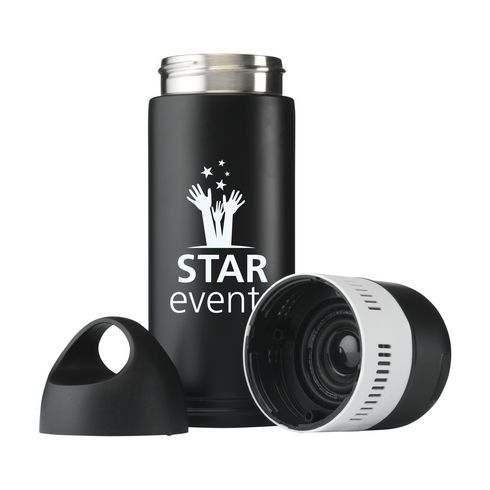 BottleBeatz Stainless Steel 2-in-1 thermos haut-parleur