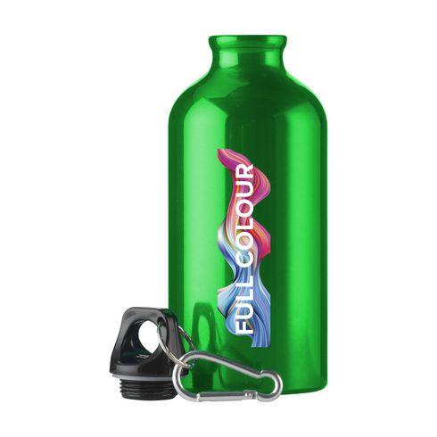 Bedrukte aluminium waterfles AluMini   500 ml