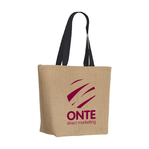 Elegance Bag Jute-Einkaufstasche
