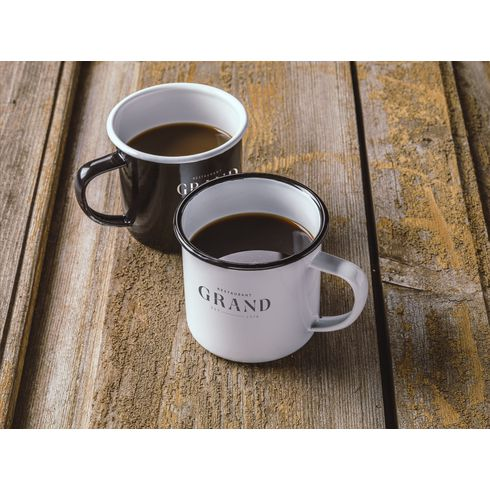 Retro Emaille Tasse