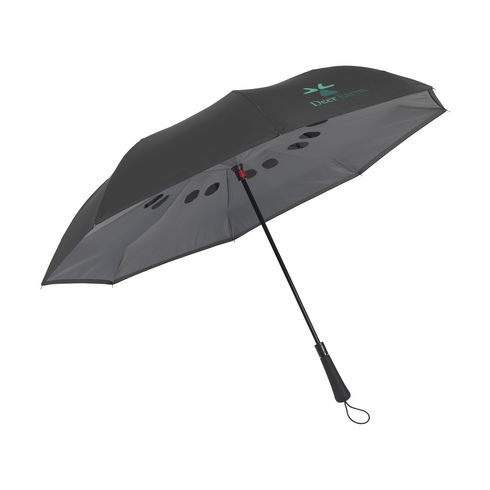 Branded Umbrella Reverse with Quick-Dry