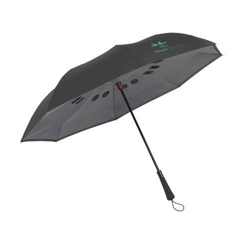 Parapluie inversé séchage rapide avec marquage