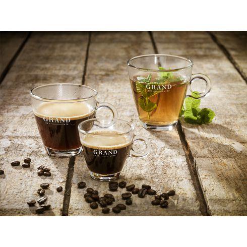 Lugano Kaffe Glas 230 ml