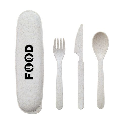 ECO Gusto wheat straw cutlery set