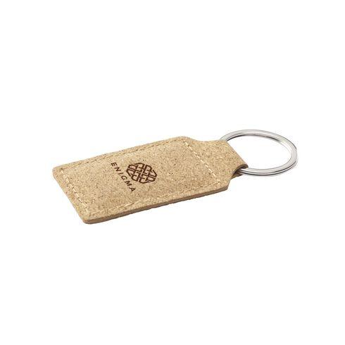 Cork Key Ring