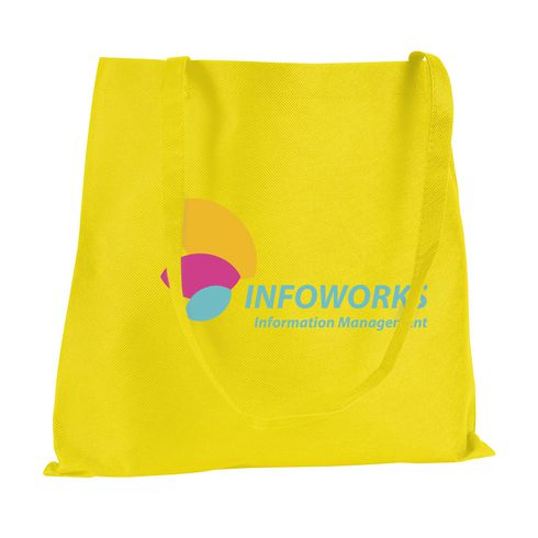 Eco-friendly shopping bag with long handles