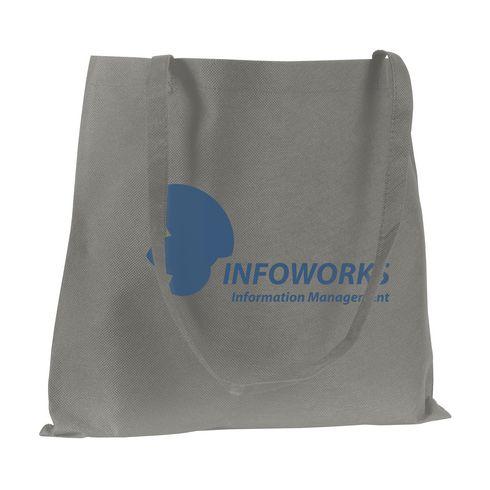 Umweltfreundliche Einkaufstasche mit langen Henkeln