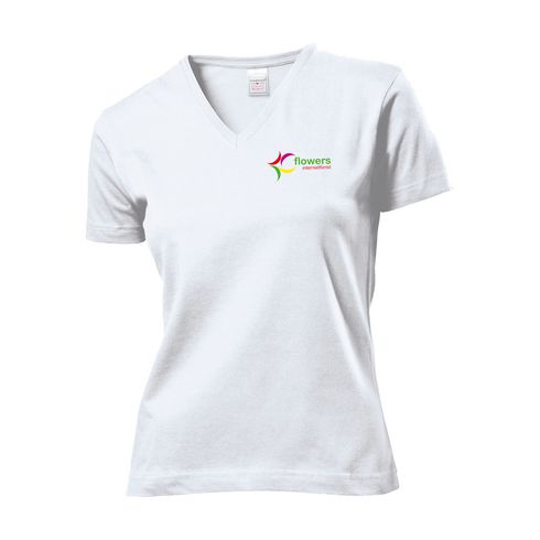 Stedman Classic V-Neck T-shirt naiset t-paita