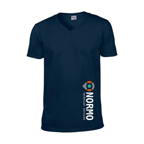 Gildan Softstyle V-Neck T-shirt miehet t-paita