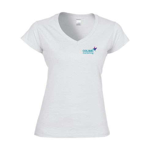 Gildan Softstyle V-Neck T-shirt ladies