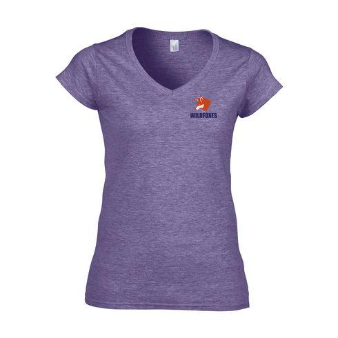 Gildan Softstyle V-Neck T-shirt dames