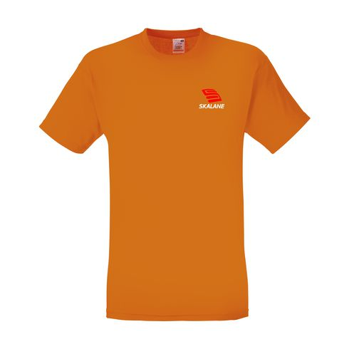 Fruit of the Loom® Herren Baumwoll-T-Shirt mit Logo