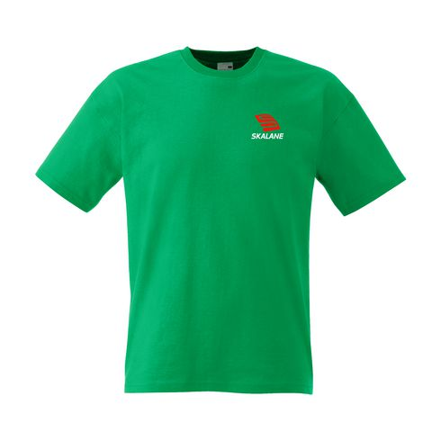 Fruit of the Loom® katoenen T-shirt heren met logo