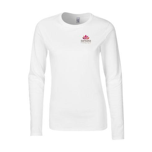 Gildan Softstyle Longsleeve T-shirt naiset t-paita