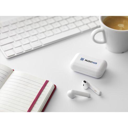 Sensi TWS écouteurs sans fil dans un étui de charge
