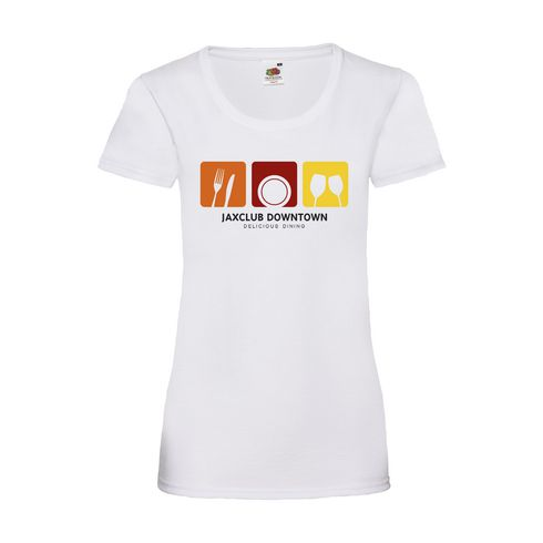 Fruit Valueweight T-shirt ladies