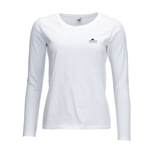 Fruit Valueweight Longsleeve T-Shirt Damen