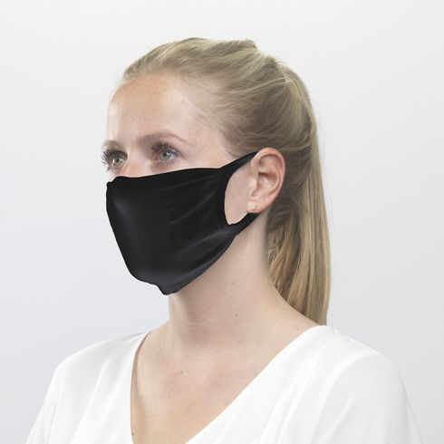 Herbruikbaar mondkapje met filtervak