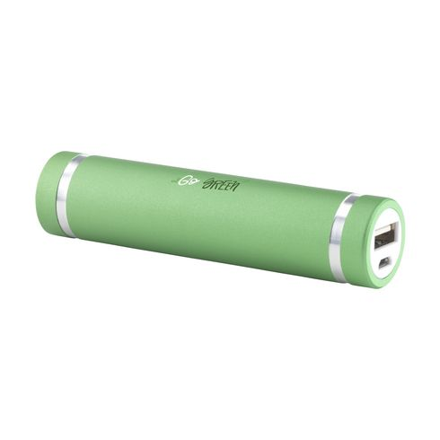 Portable power bank with 2000mAh lithium battery