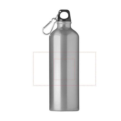 AluMaxi 750 ml aluminium water bottle