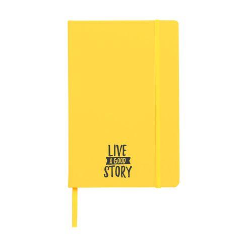 A5 notesbog med hardcover med tryk eller logo