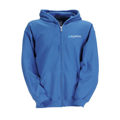 Gildan Heavyblend Hooded Full-Zip barn hættetrøje