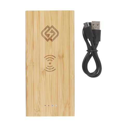 Bamboo 8000 Wireless Powerbank kabelloses Ladegerät