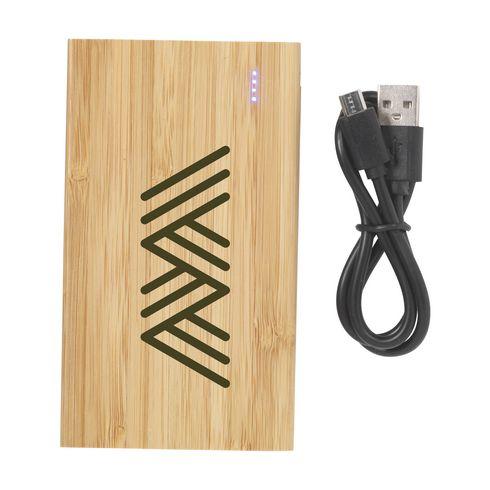 Bamboo 4000 Powerbank Power externes Ladegerät