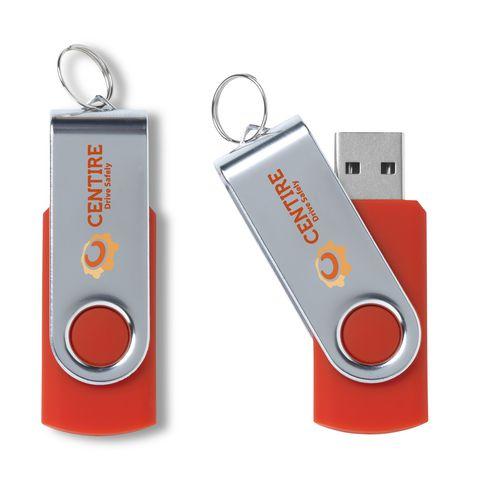 Met jouw merk te bedrukken USB-stick