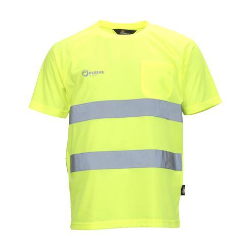 fluorescerende t-skjorte