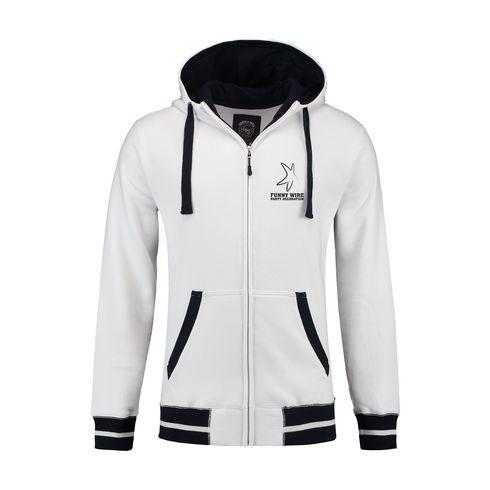 Billede af L&S Heavy Sweater Hooded Jacket Contrast herre jakke